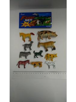 Животные Домашние 10 шт. набор в пакете