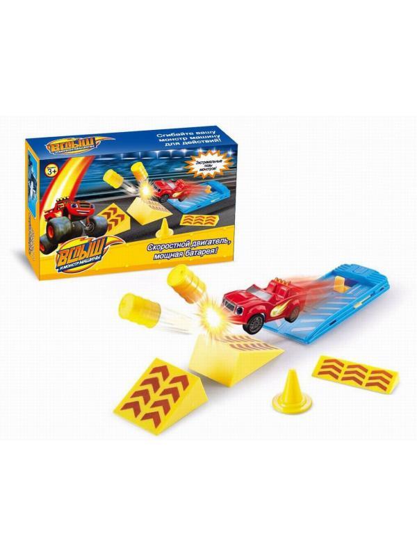 Игровой набор «Машинка с запуском» YF7788-31