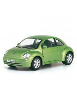 Инерционная металлическая машинка Kinsmart «Volkswagen Beetle New» 1:24 / KT7003