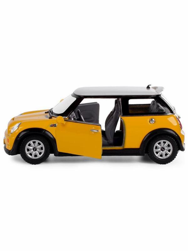 Металлическая машинка Kinsmart 1:28 «Mini Cooper S» KT5059D инерционная / Микс