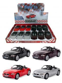 Металлическая машинка Kinsmart 1:32 «BMW Z4» KT5069D, инерционная / Микс