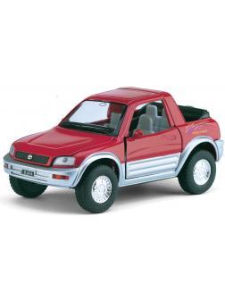 Инерционная металлическая машинка Kinsmart «Toyota Rav4 Concept»1:32 / KT5011W в инд. кор.