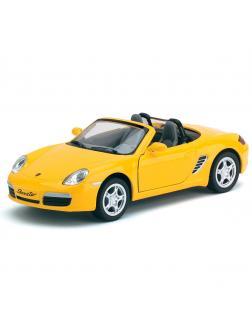 Инерционная металлическая машинка Kinsmart «Porsche Boxster S» 1:34 / KT5302