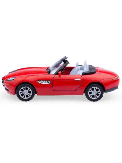 Инерционная металлическая машинка Kinsmart «BMW Z8» 1:36 / KT5022W в инд. коробке