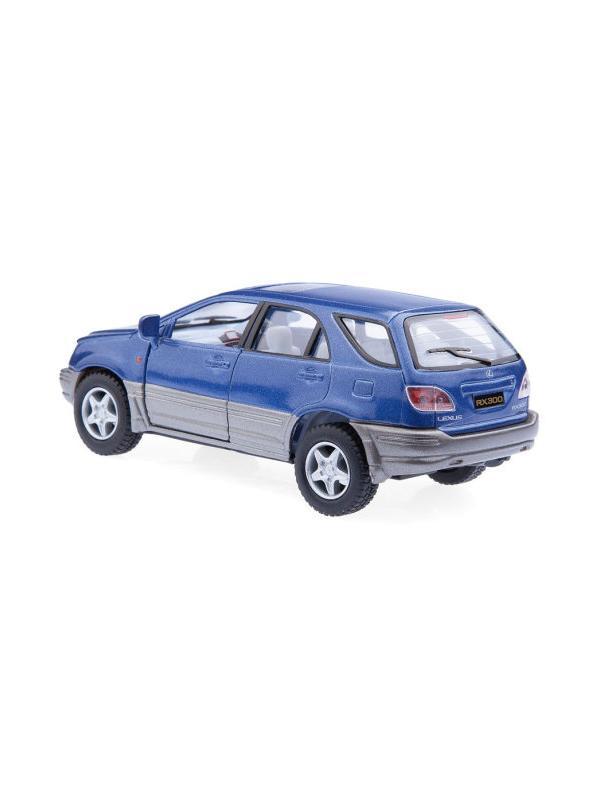 Инерционная металлическая машинка Kinsmart «Lexus RX300» 1:36 / KT5040W в инд. коробке