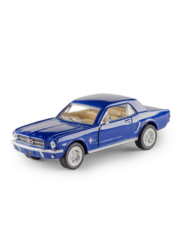 Металлическая машинка Kinsmart 1:36 «1964 1/2 Ford Mustang» KT5351D, инерционная / Микс