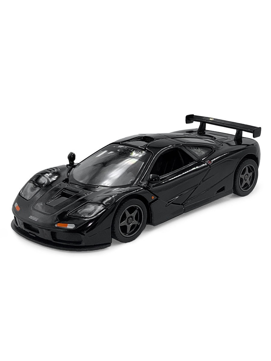 Машинка металлическая Kinsmart 1:34 «1995 McLaren F1 GTR» KT5411D инерционная / Микс