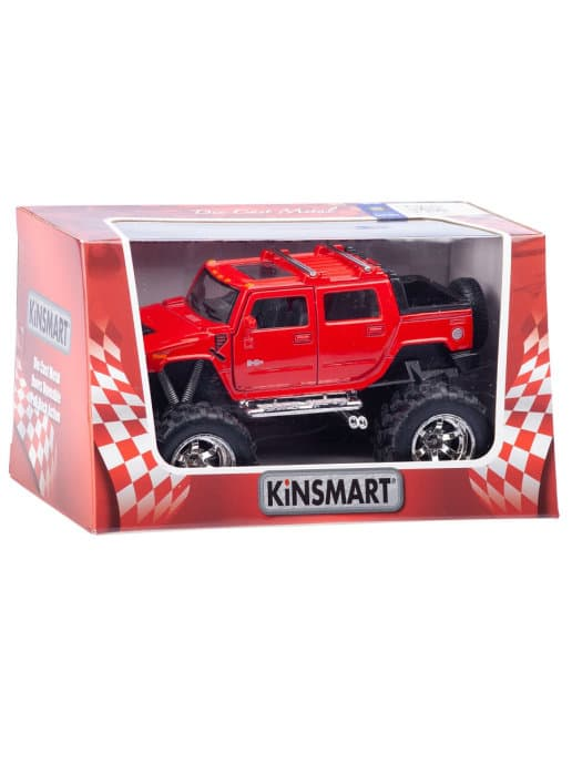 Металлическая машинка Kinsmart 1:40 «Hummer H2 (Off Road)» / KT5326W инерционная в инд. коробке / Микс