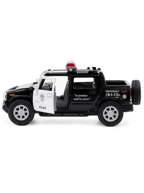 Металлическая машинка Kinsmart 1:40 «Hummer Н2 (Полиция)» / KT5097WP инерционная в коробке