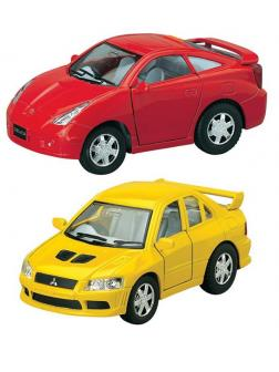 Мицубиши Lancer Evolution 7 / Тойота Celica 2 вида