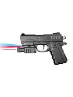 Пистолет пневматический с фонариком и инфракрасным прицелом 044AP-BB