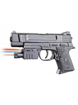 Пистолет пневматический с фонариком и инфракрасным прицелом 2014B-BB