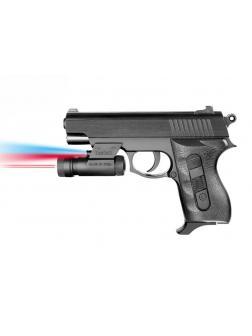 Пистолет пневматический с фонариком и инфракрасным прицелом 031A-BB