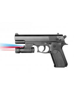 Пистолет пневматический с фонариком и инфракрасным прицелом 037A-BB