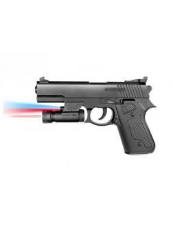 Пистолет пневматический с фонариком и инфракрасным прицелом M92A-BB