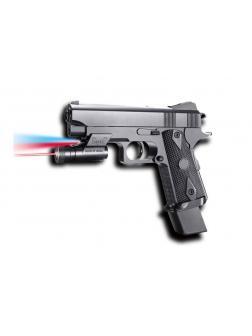 Пистолет пневматический с фонариком и инфракрасным прицелом, в коробке 2112-A2-BB