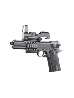 Пистолет пневматический с прицелом, в коробке 2123A3-BB