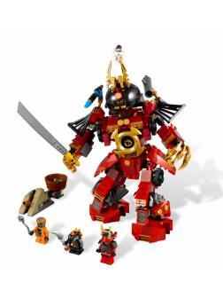 Конструктор Bl «Механический самурай со спиннером» 9775 (НиндзяГо 9448) / 451 деталь