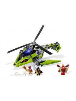 Конструктор Bl «Змеиный Вертолет» 9757 (НиндзяГо 9443) / 330 деталей