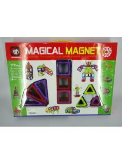 Магнитный конструктор Magical Magnet 705 / 77 деталей