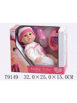 Интерактивная кукла «Baby Toby» 35 см с аксессуарами 30901 / 2 предмета
