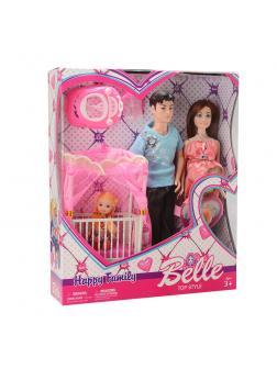 Игровой набор кукол «Счастливая семья» JX600-97 / Belle