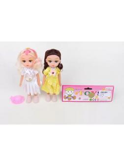 Набор кукол «Fashion toys» на батарейках 9127-1 / 2 шт