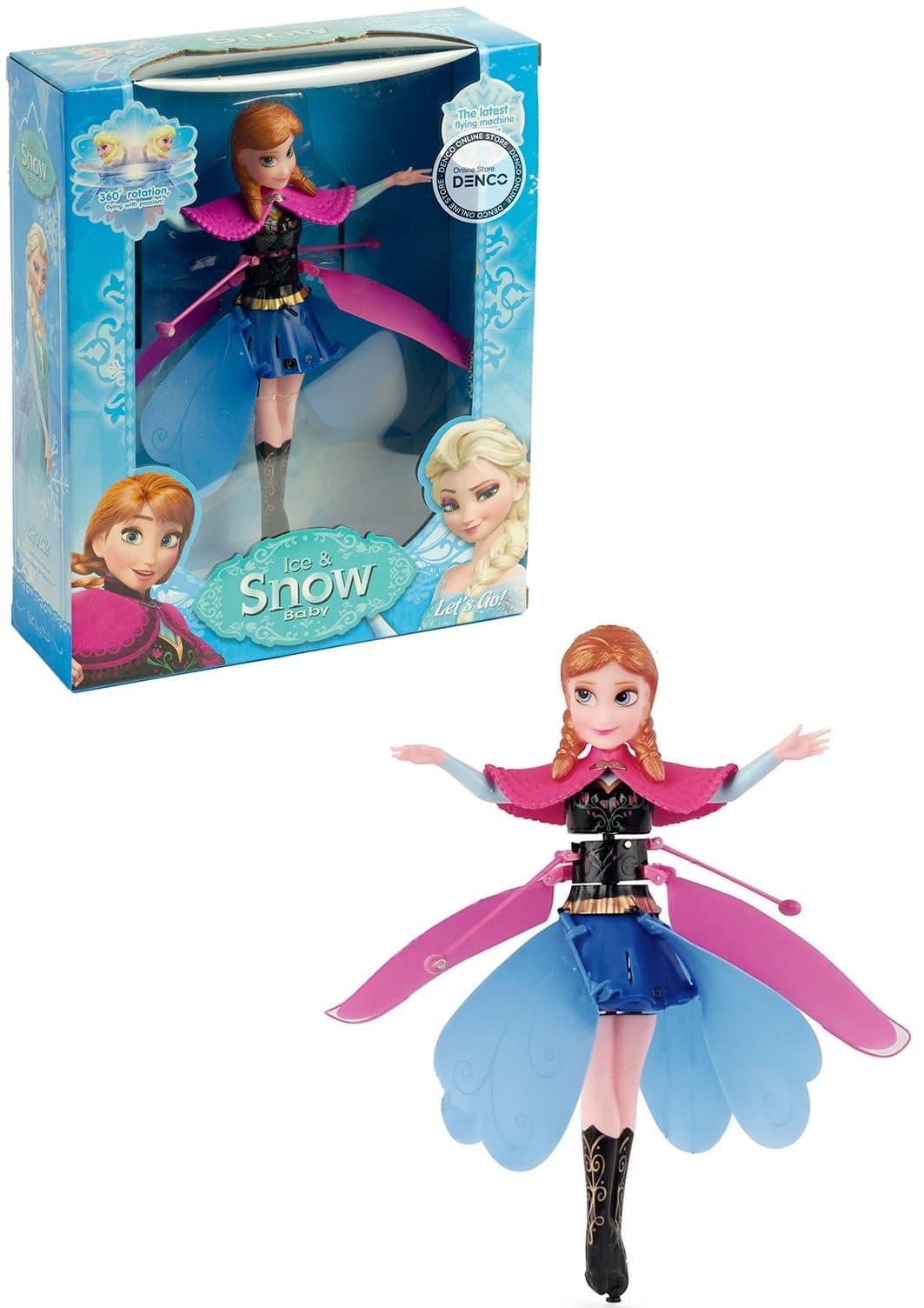 Летающая кукла Холодное сердце Анна с зарядным устройством QY66-R03V