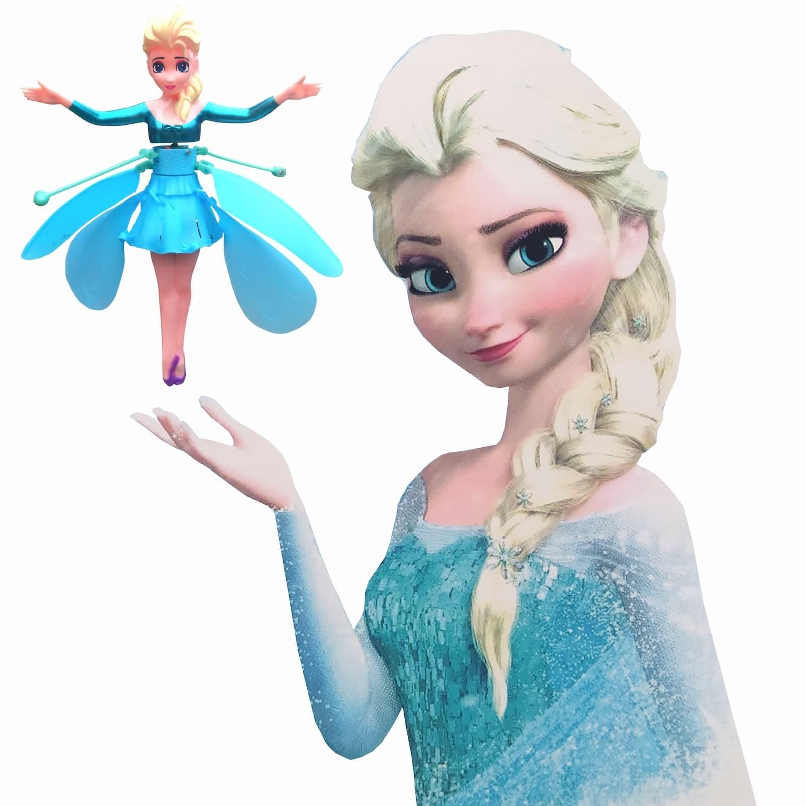 Летающая кукла Холодное сердце Эльза с зарядным устройством 6602B