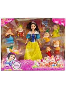 Набор кукол «Белоснежка и 7 гномов» 9150