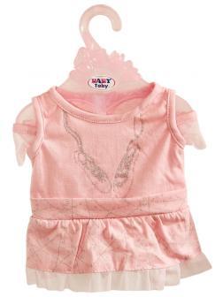 Одежда для интерактивной куклы 38-43 см «Baby Toby» T8163 / платье-боди с люрексом