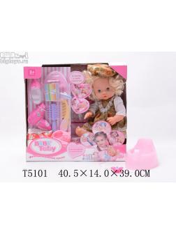 интерактивная кукла (8 предметов)