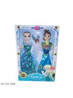 Куклы, высота 30 см, 2 шт. в коробке 362B-1 / Fashion