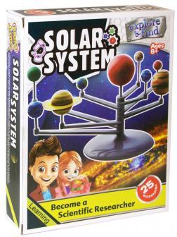 Макет Солнечной системы «Раскрась и собери!» 1007