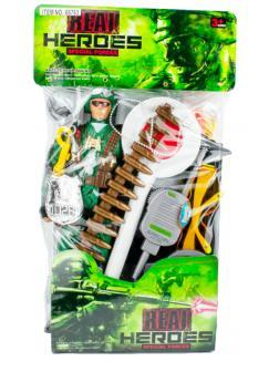Набор 'военный' с солдатиком в пакете Real Heroes special / A-Toys