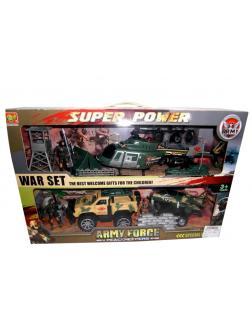 Набор тематический с фигурками армия / Shenzhen Toys