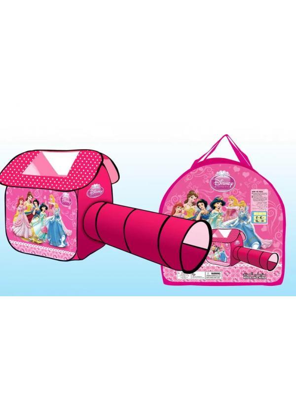 Игровая палатка с туннелем Shantou Gepai «Принцессы Disney» 230х102х114 см / 96983B-2