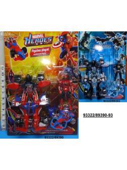 Трансформер супергерой + фигурка 2 вида