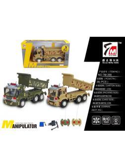 Машинка на радиоуправлении «Военный грузовик» 25см с зарядным устройством 7M-398 / Микс