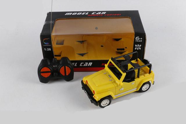 Машинка на радиоуправлении 1:28 «Джип» 22 см. 5137