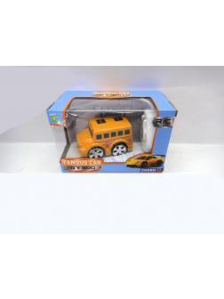 Машинка на радиоуправлении «Школьный автобус мультяшка» (вперед+назад с разворотом) 9025