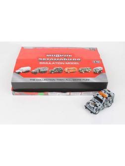 Металлическая машинка Play Smart 1:43 «Джип омон» 1503-192, инерционная