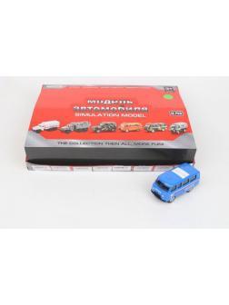 Машинка Play Smart 1:43 «Фургон Почта» 1503-208, инерционная