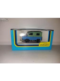 1:43 сувенирная модель ЛуАЗ-969 'Волынь' (голубой-зеленый)
