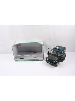 Машинка Play Smart 28 см. «Джип Охотник» 9122-D Автопарк, инерционная