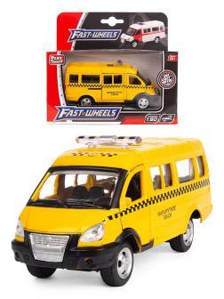 Металлическая машинка Play Smart 1:50 «Газ-3231 Микроавтобус Маршрутное такси» 10 см. 6404-С Автопарк, инерционная