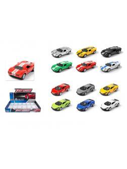 Металлическая машинка Play Smart 1:64 «Ford GT / Mclaren» 6590D Автопарк, инерционная / Микс