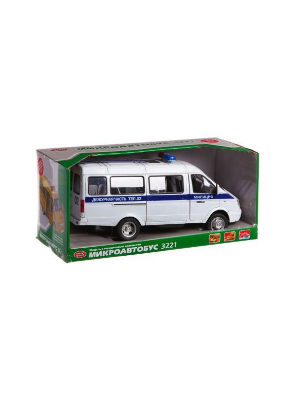Металлическая машинка Play Smart 1:16 «Дежурная часть» 34 см A532-H11073 Автопарк, инерционная