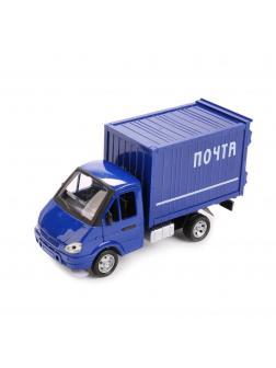 Металлическая машинка Play Smart 1:27 «Фургон. Почта» 34 см 9123-A Автопарк, инерционная