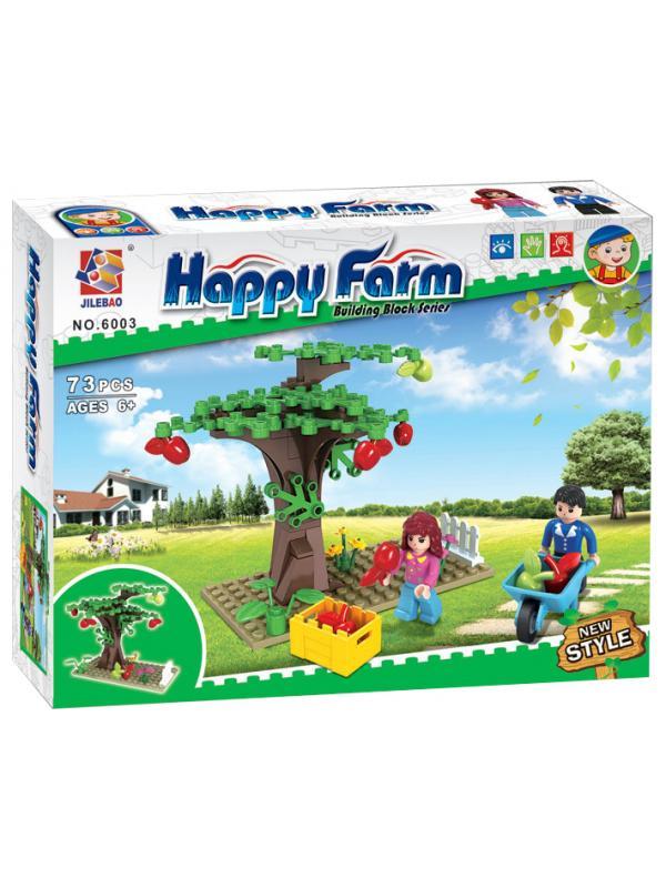 Конструктор JILEBAO Happy Farm «Дерево в саду» 6003 / 73 деталей